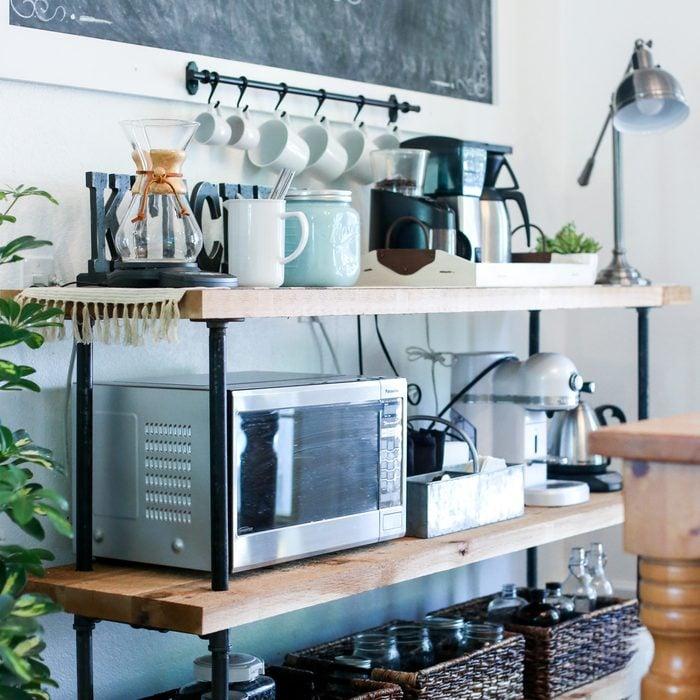 Industrial Coffee Bar