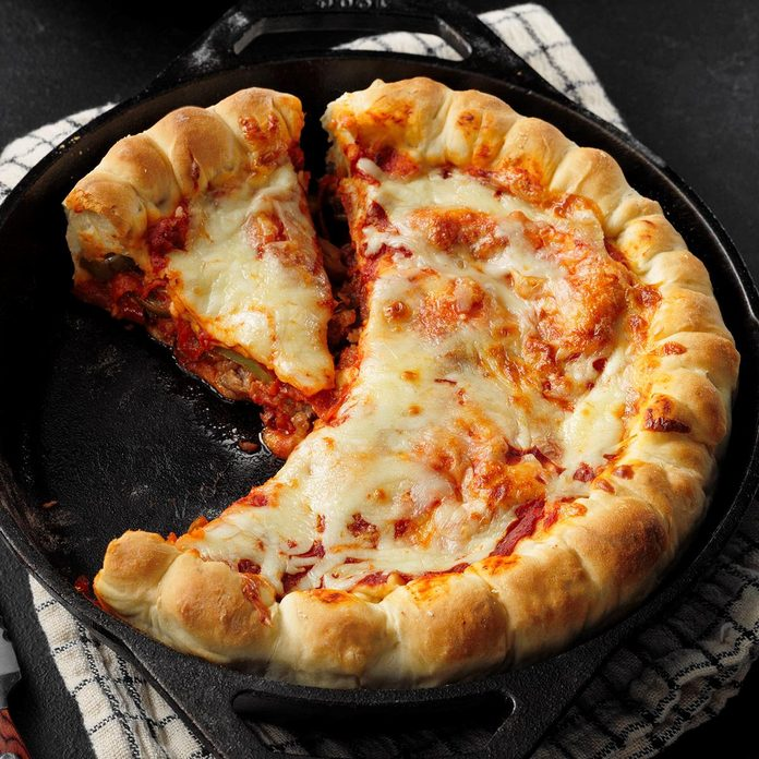 Cast-Iron Pizza Pie