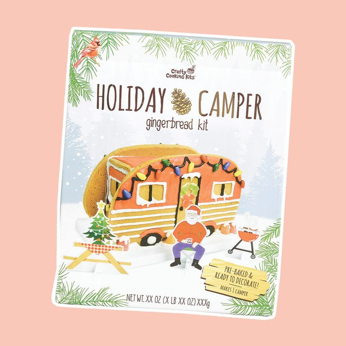 Holiday Camper Gingerbread Kit