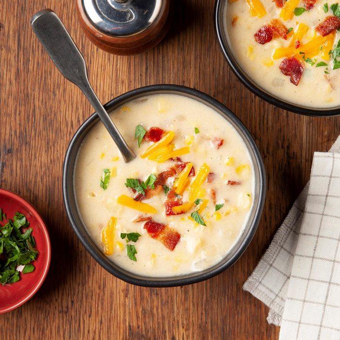 Instant Pot Corn Chowder