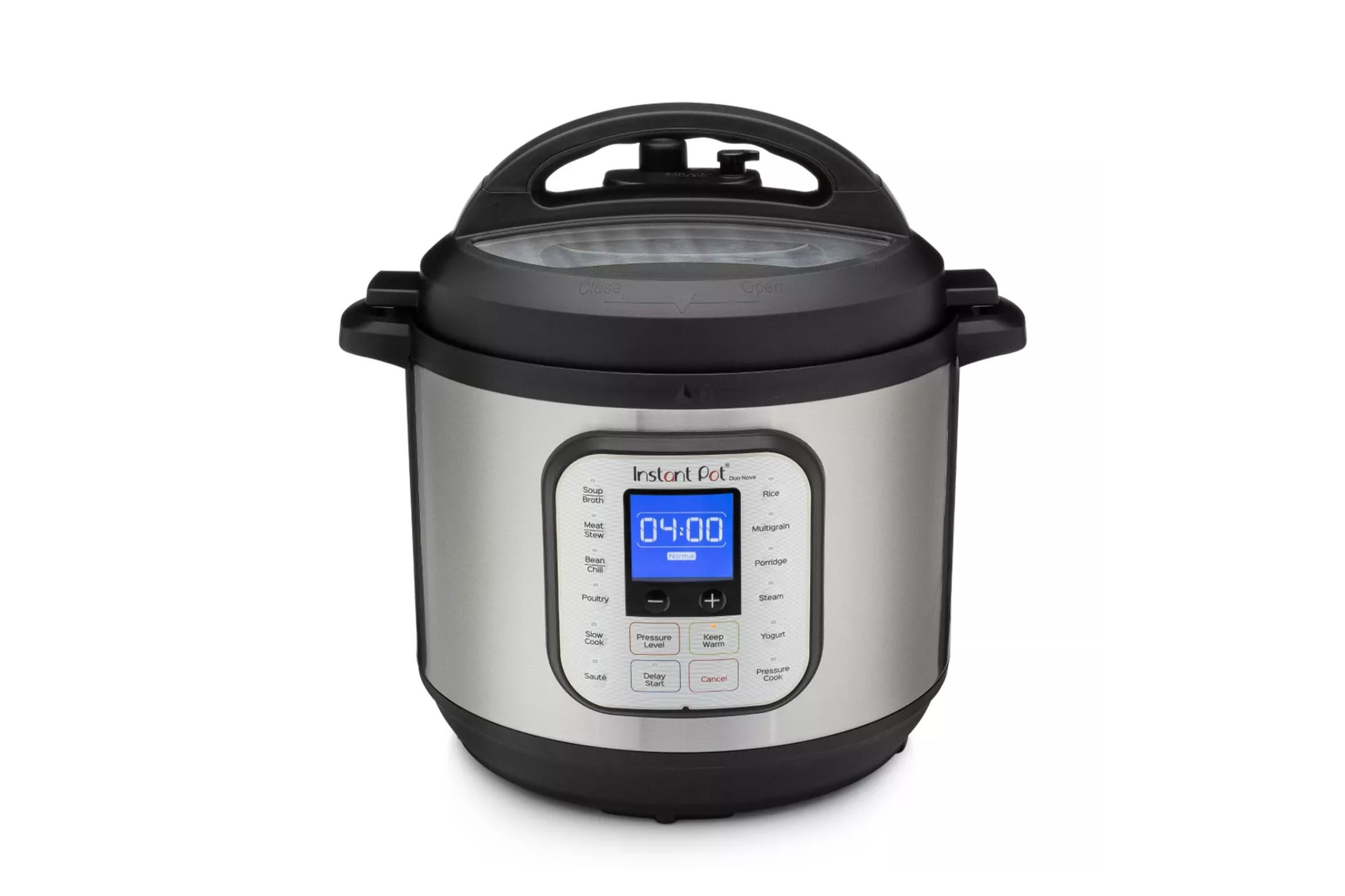 Instant Pot Duo Nova 8qt 7-in-1 One-Touch Multi-Use Programmable Electric Pressure Cooker with New Easy Seal Lid – Latest Model