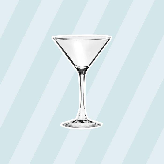 7.6oz 4pk Glass Modern Martini Glasses - Threshold™