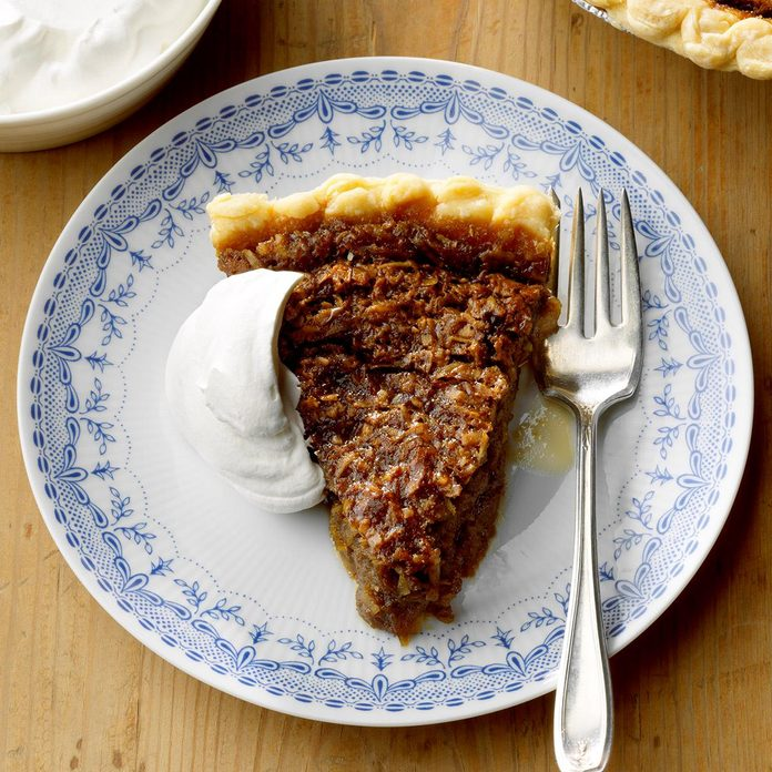 Mom-Mom Bessie's Coconut Molasses Pie