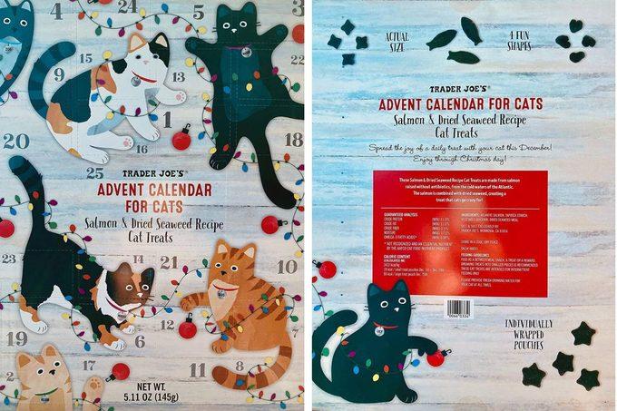 Trader Joe's Cat Advent Calendar