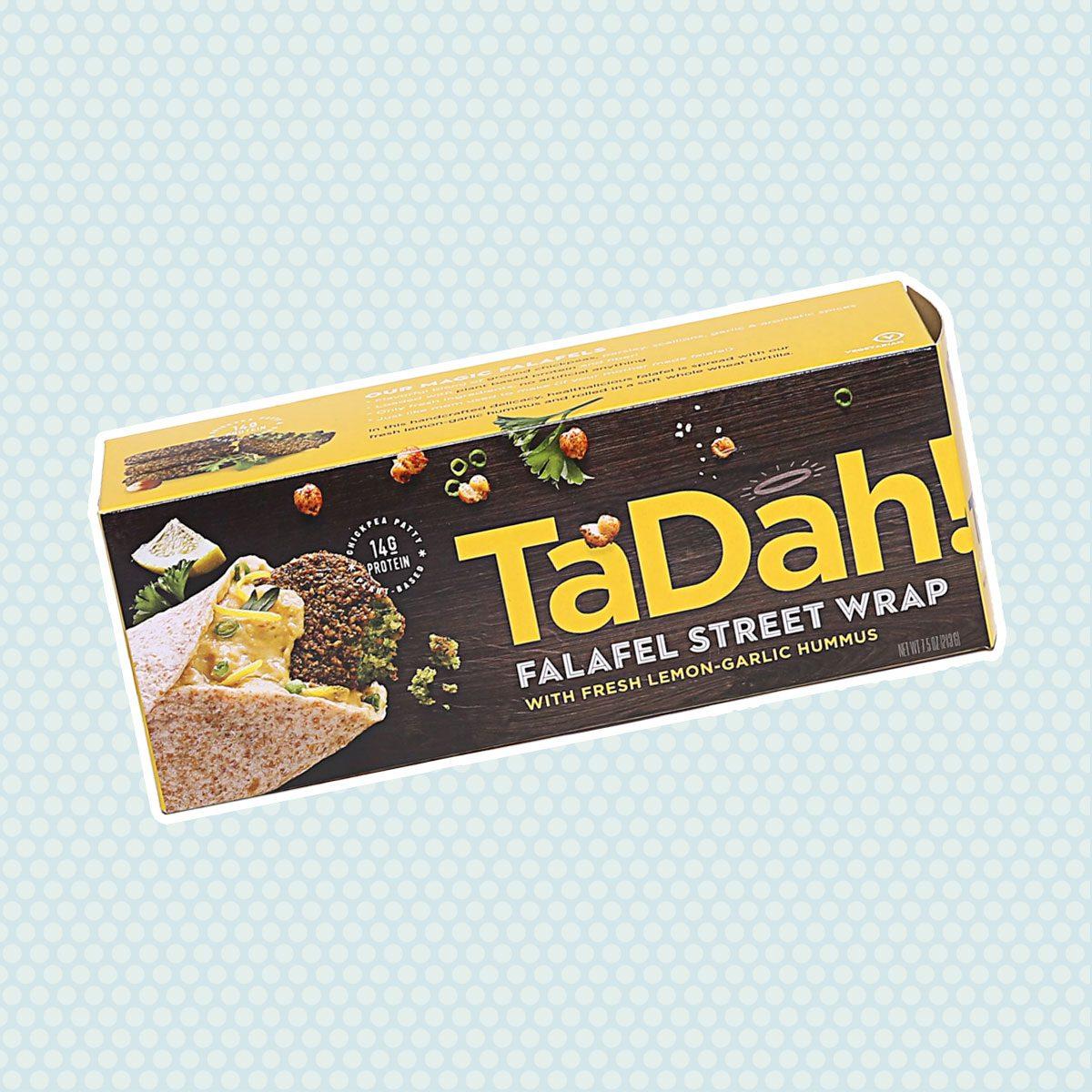 TaDah Foods falafel wraps