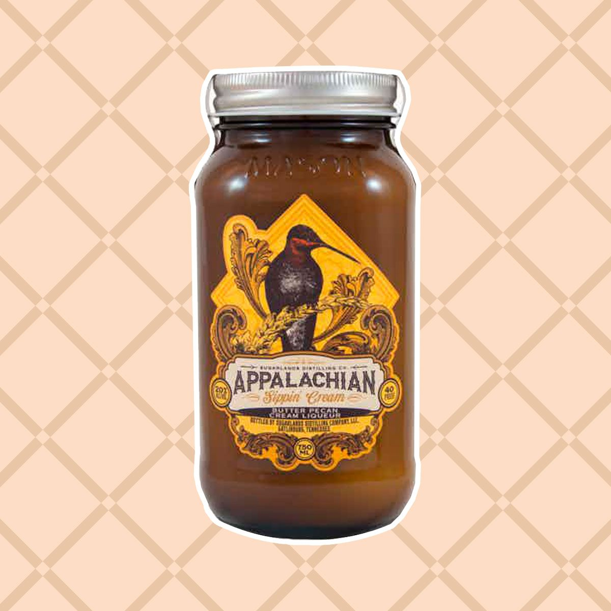 Sugarlands Appalachian Sipping Butter Pecan Cream Liqueur