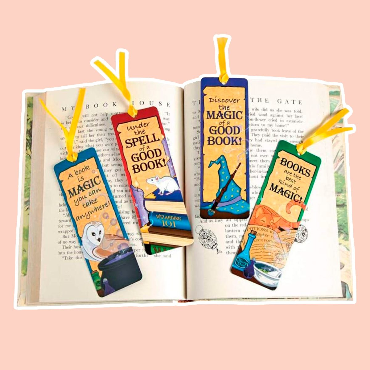Fun Express Laminated Wizard'S Academy Bookmarks - 48 Pieces - Educational and Learning Activities for Kids