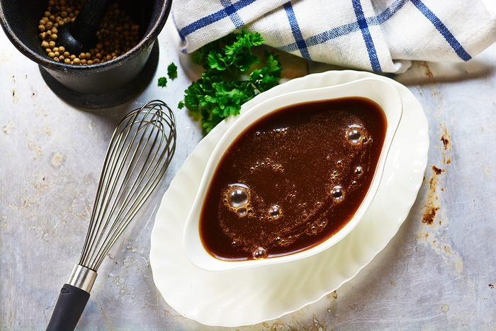Brown sauce; Shutterstock ID 200552642; Job (TFH, TOH, RD, BNB, CWM, CM): Taste of Home