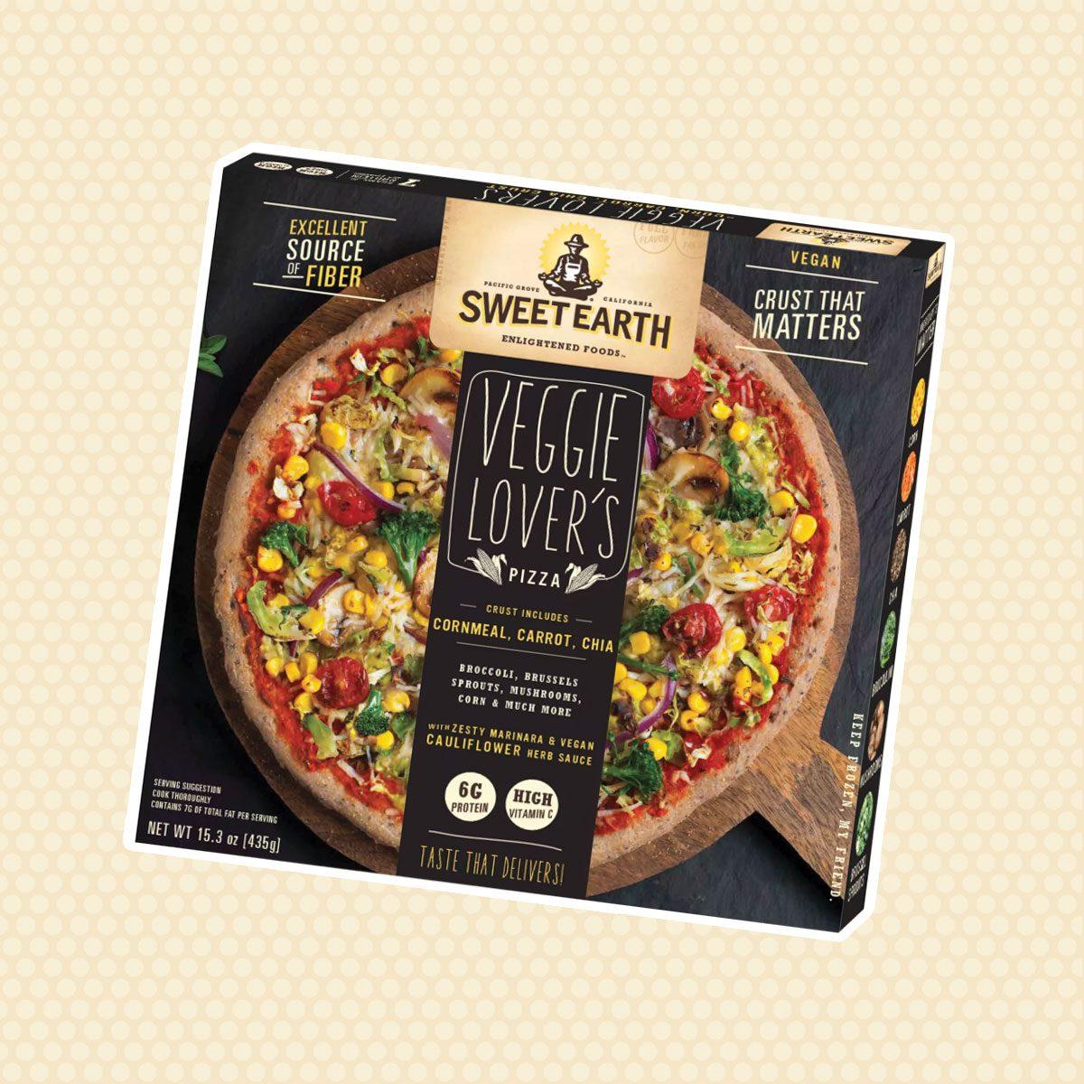 Sweet Earth Natural Veggie Lovers Frozen Pizza - 15oz