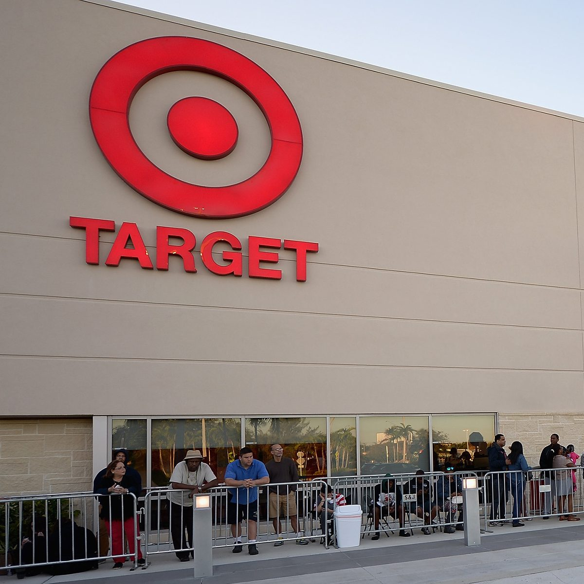 MIAMI, FL - NOVEMBER 27: Hundreds of guests shopped for Black Friday doorbuster deals at Target at the Black Friday At Target Dadeland South In Miami at Target Dadeland South on November 27, 2014 in Miami, Florida. (Photo by Gustavo Caballero/Getty Images for Target)