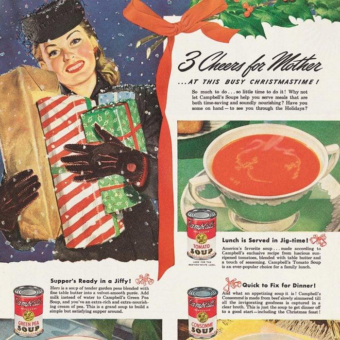 vintage campbells soup ad