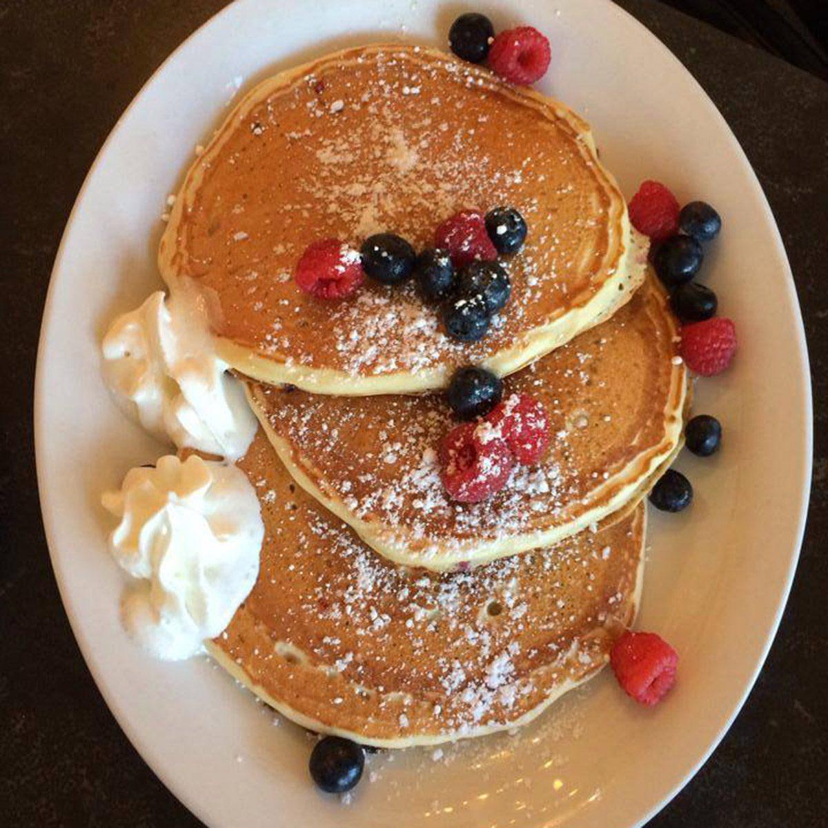 Doreen's Cup of Joe, Marco Island pancakes