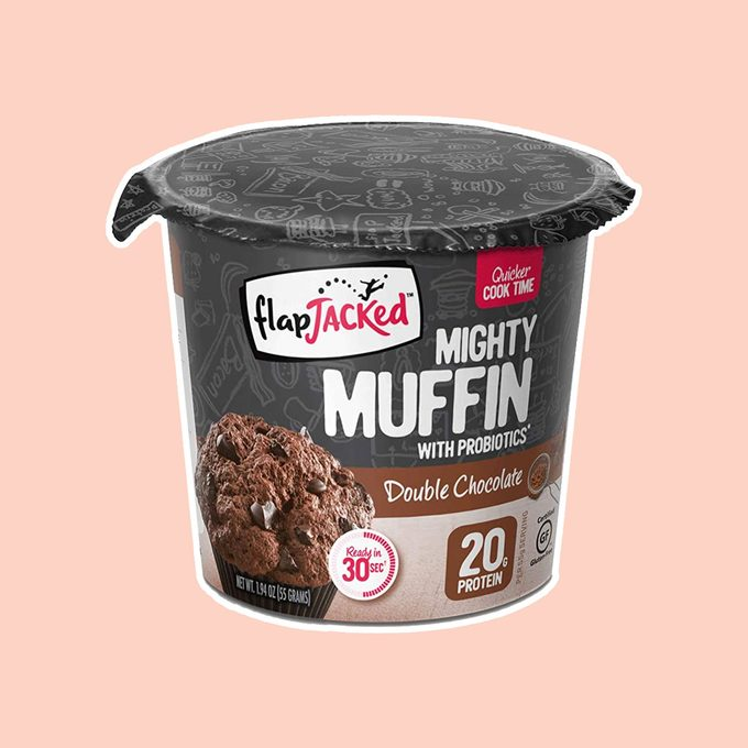 healthy breakfast on-the-go Flapjacked Mighty Muffins Gluten Free Chocolate