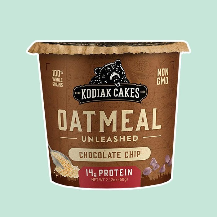 Kodiak Cakes Instant Protein Chocolate Chip Oatmeal in a Cup, 2.12oz (Pack of 12)