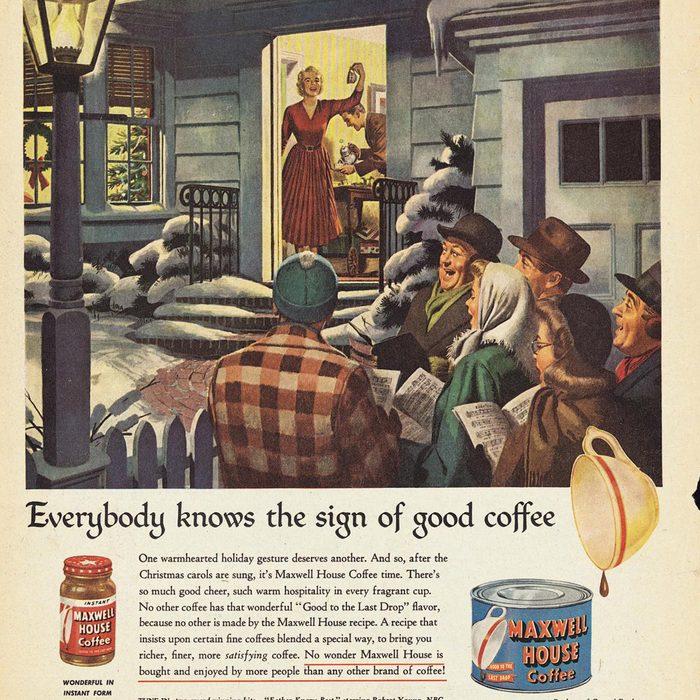 vintage maxwell ad