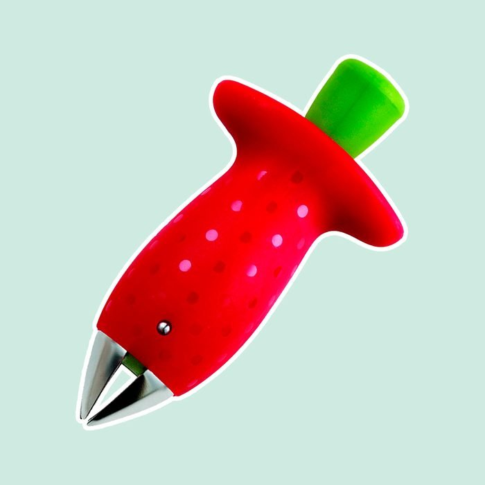 Chef'n Original Stem Gem Strawberry Huller, Red/Green - 102-138-005