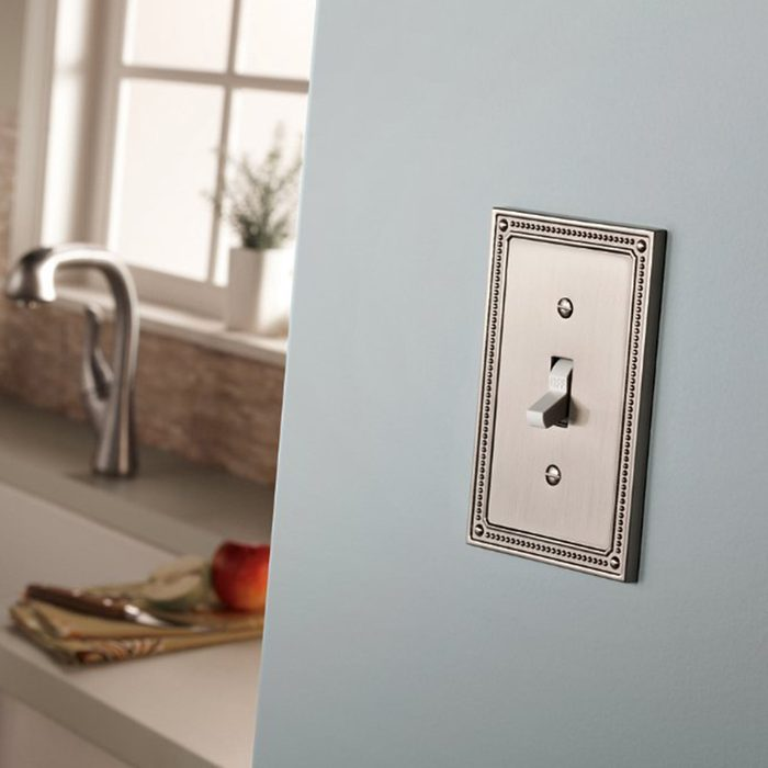 Fancy switch plate cover