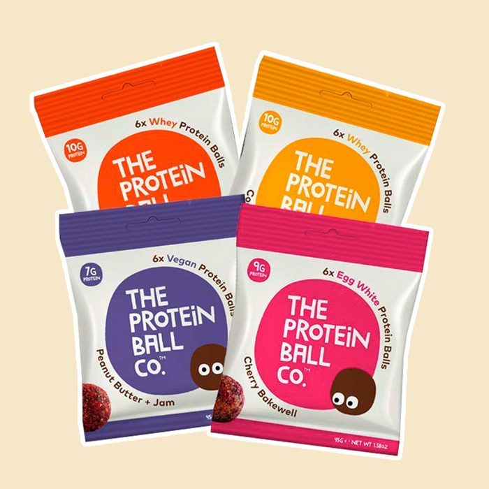 The Protein Ball Co. Keto Protein Bites   12 Pack Variety   Peanut Butter Jam, Cherry Bakewell, Cocoa Orange, Coconut Macadamia   All Natural, Gluten Free, Vegetarian, Healthy High Protein Snacks