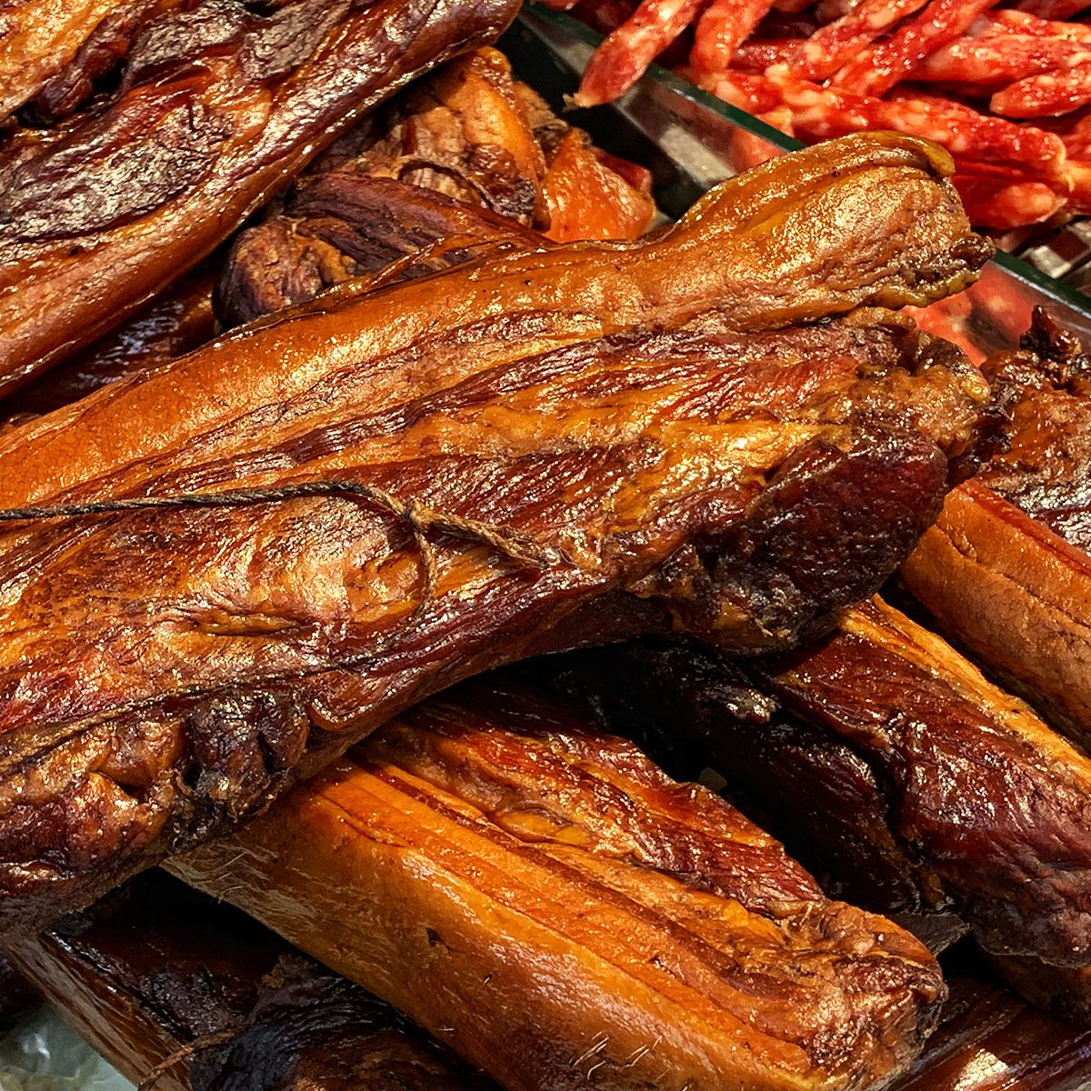 Chinese Bacon Close up
