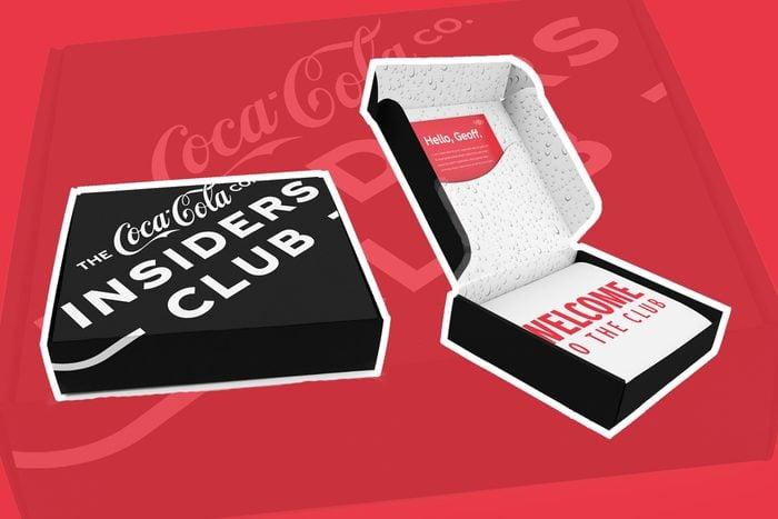 coca-cola insiders club