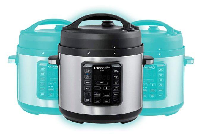 Crock-Pot Express Easy Release   6 Quart Slow, Pressure, Multi Cooker, 6QT, Stainless Steel TKP