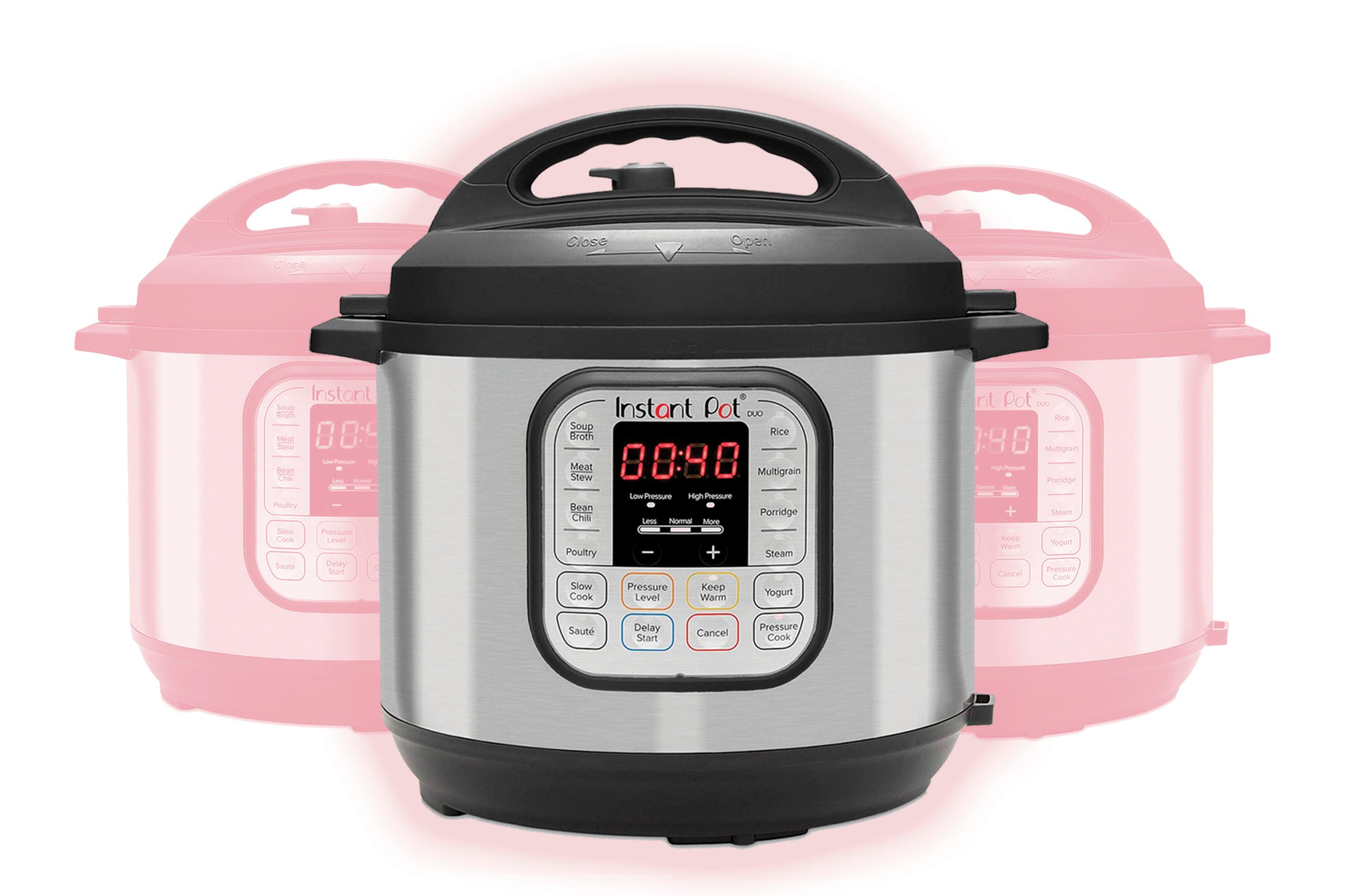 Instant Pot Duo 7-in-1 Electric Pressure Cooker, Sterilizer, Slow Cooker, Rice Cooker, Steamer, Saute, Yogurt Maker, and Warmer, 6 Quart, 14 One-Touch Programs TKP