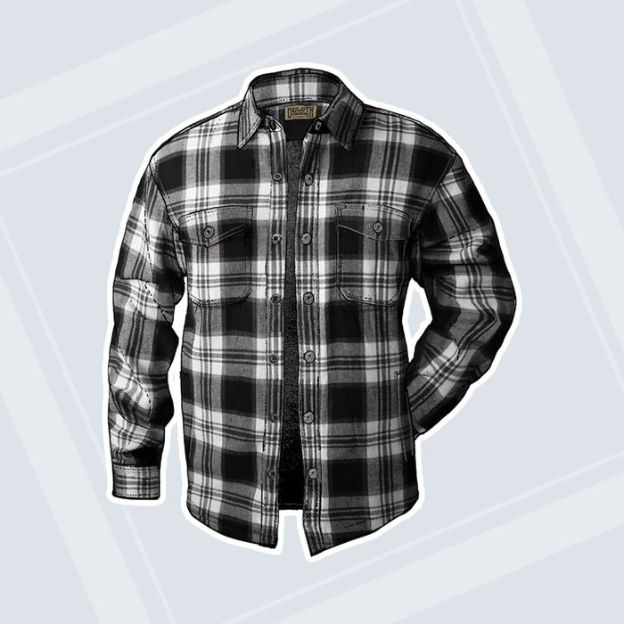 gifts for men Mens Flapjack Fleece Lined Relaxed Fit Shirt Jac