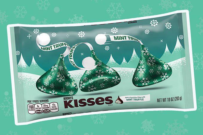 mint truffle kisses