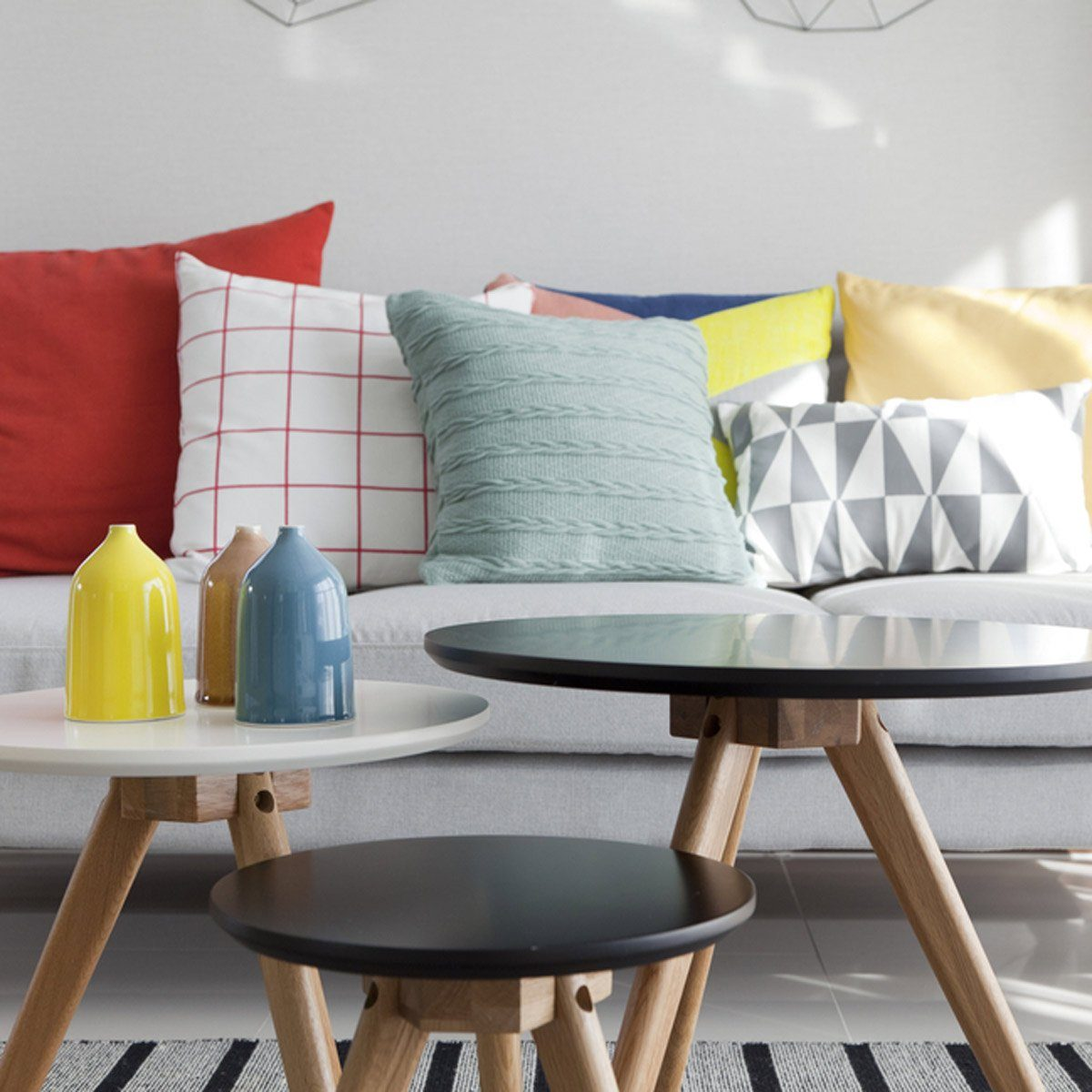 Interior Design Tips: Pile on the Pillows