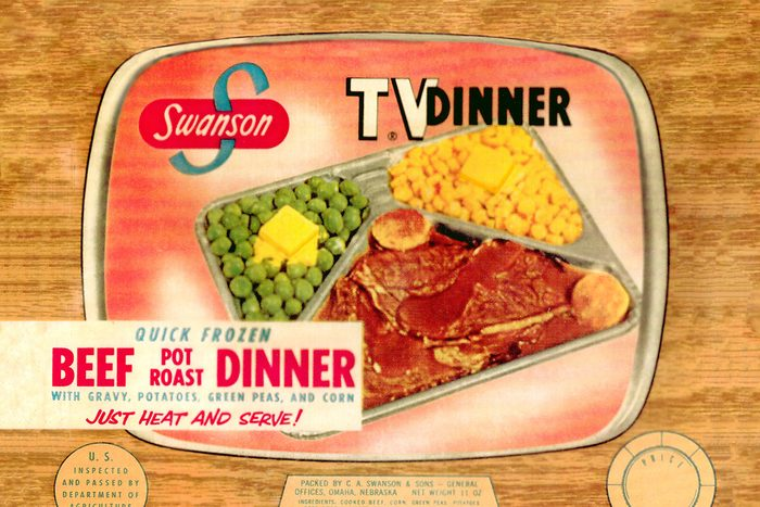 Mandatory Credit: Photo by Everett/Shutterstock (10284472a) EV1907 - TV DINNER Historical Collection