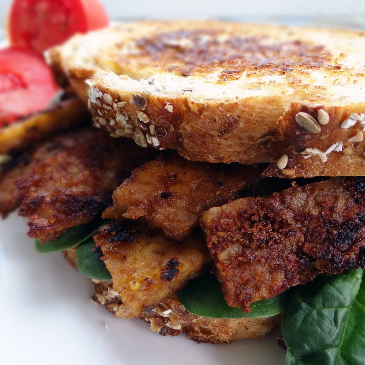 Tempeh Bacon Sandwich