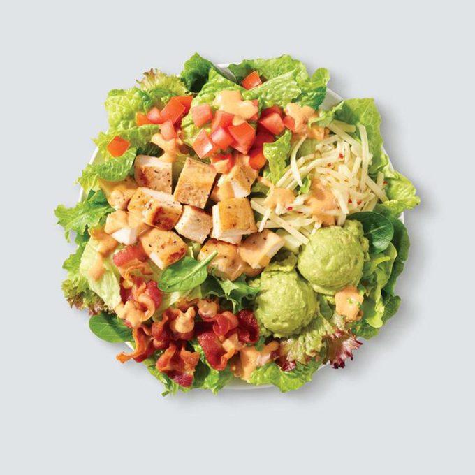 wendys southwest avocado chicken salad