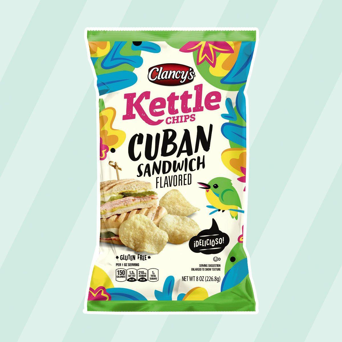 Clancy's Nashville Hot Chicken Flavored Kettle Chips aldi finds