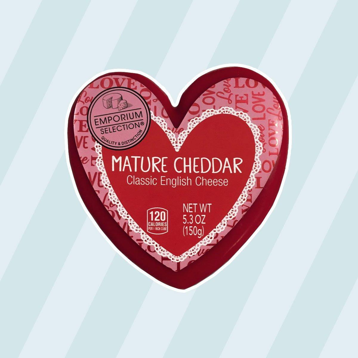 Emporium Selection Valentine's Day Cheese Assortment aldi finds