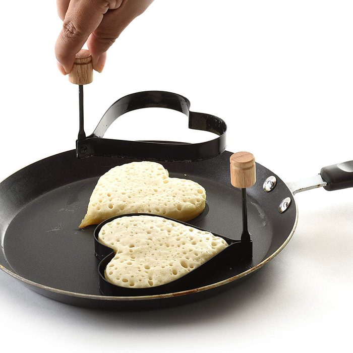 Norpro Nonstick Heart Pancake/Egg Rings, Set of 2