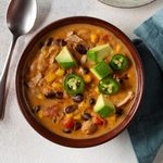 Pressure-Cooker Chicken and Bacon White Chili