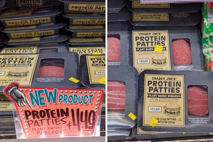 TJ protein patties