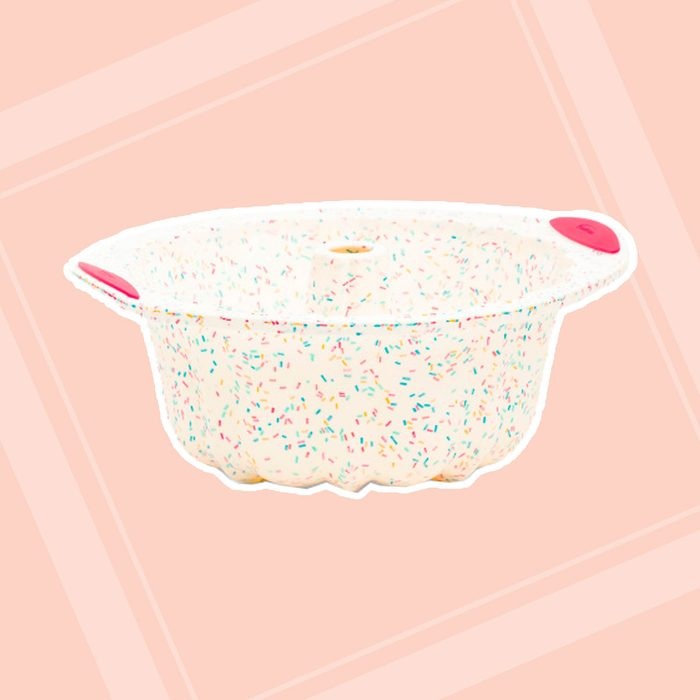 Confetti Fluted Cake Structured Silicone Baking Mold