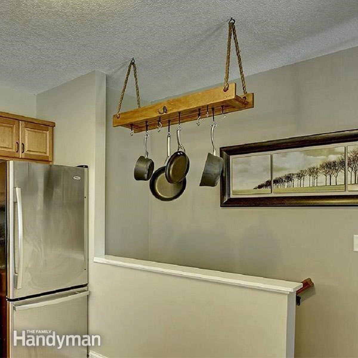 Build Your Own Hanging Rack