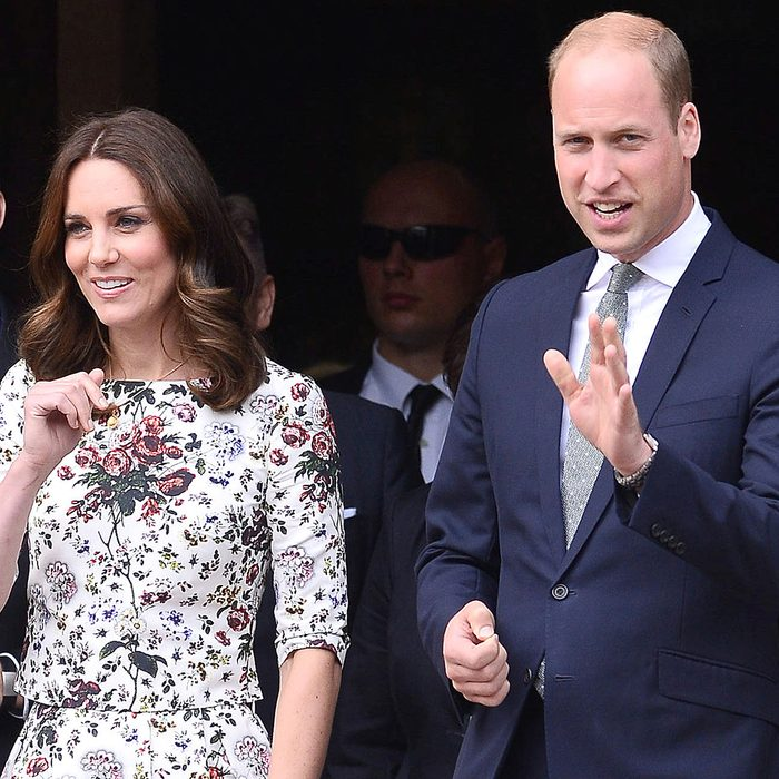 PRINCE WILLIAM AND CATHERINE DUCHESS OF CAMBRIDGE DURING VISIT IN POLAND