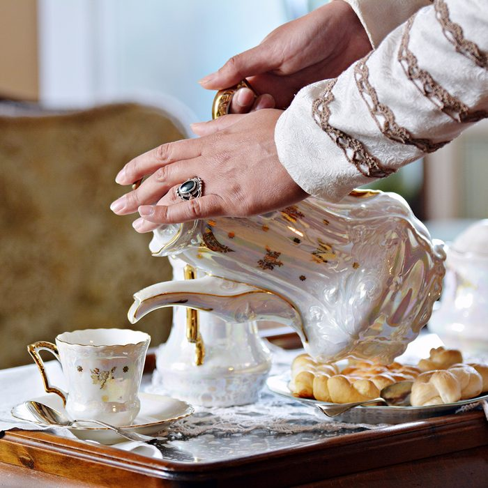Tea set of the Renaissance