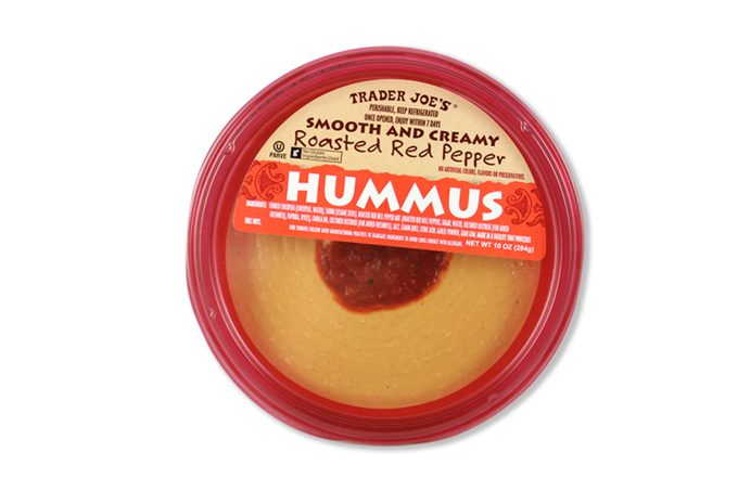 trader joes roasted red pepper hummus