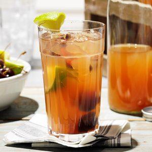 Cherry Limeade Sweet Tea