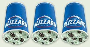 DQ's Mint Oreo Blizzard Might Be Even Better Than the Shamrock Shake