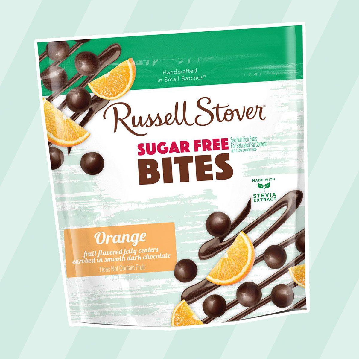 Russell Stover Sugar-Free Dark Chocolate Orange Bites