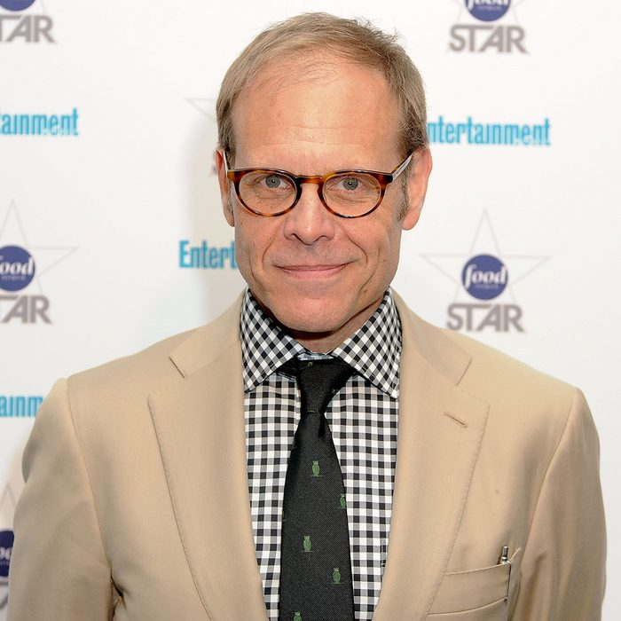 NEW YORK, NY - MAY 08: Alton Brown attends A Night With The Stars of Food Network at 79 Crosby Street on May 8, 2012 in New York City. (Photo by Jude Domski/WireImage)
