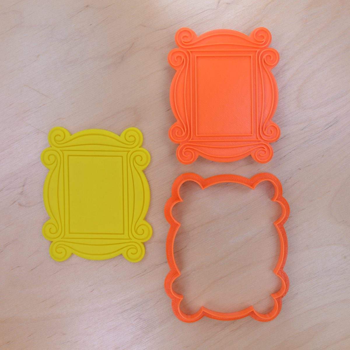 Monica's Peephole Door Frame Cookie Cutter and Stamp Set