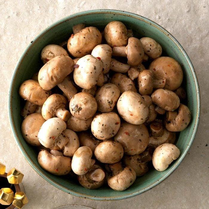 Spanish Marinated Mushrooms