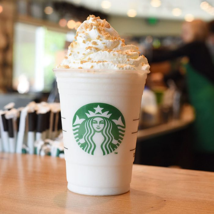 Starbucks Lemon Bar Frappuccino