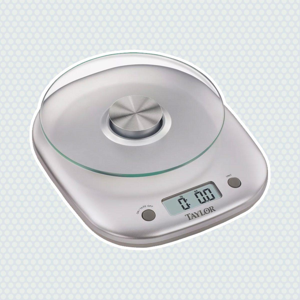Taylor 11lb Glass Platform Digital Food Scale